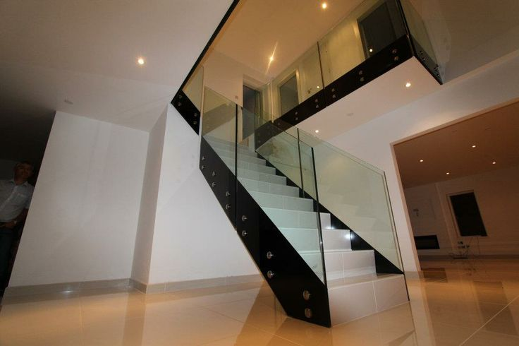 Stand Offs to Create this beautiful glass staircase can be purchased directly here - http://www.j-w-design.co.uk/#!stand-offs/c7at