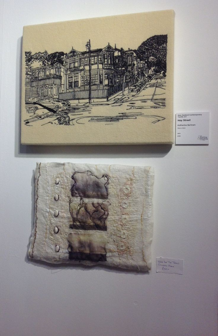 Colleen Plank and Katherine Bertram, Knitting and stitch show 2015