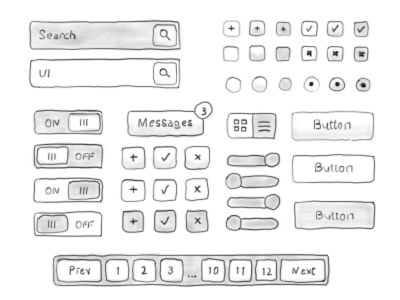 Hand Drawn Icons is raster icon set containing 820 (410 + 410) icons all hand drawn in Photoshop using the Wacom Bamboo tablet. This Icon set is optimized for the Balsamiq mockups, so you can easily make your wireframes mockups even more engaging.