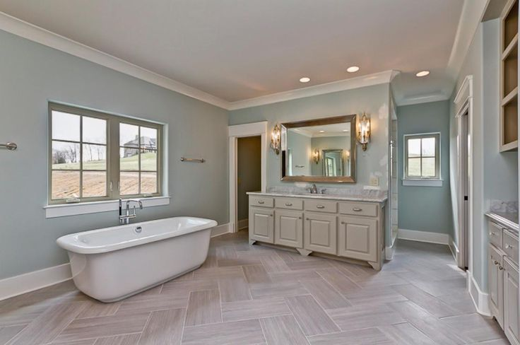 24 Best Images About Bathroom Paint Colors On Pinterest Woodlawn Blue Paint Colors And White