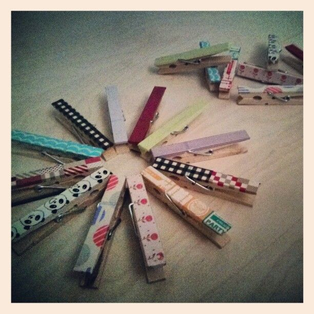 Washi tape DIY ideas