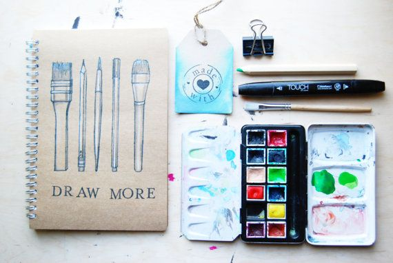 Sketchbook Art Tools / customizable by WAIQ on Etsy