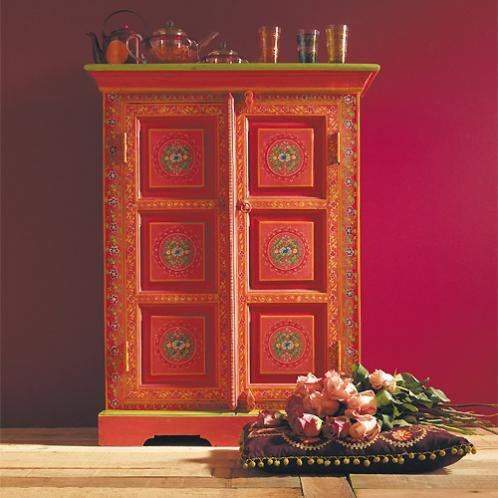 Roulotte cabinet by maisons du monde bollywood furniture for Deco meuble furniture richibucto