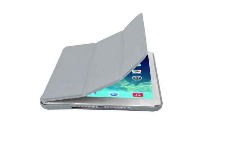 Cirago Slim-Fit PU Cover Case Kick Stand for Apple iPad Air - Gray IPCP5PA1GRY  #Cirago