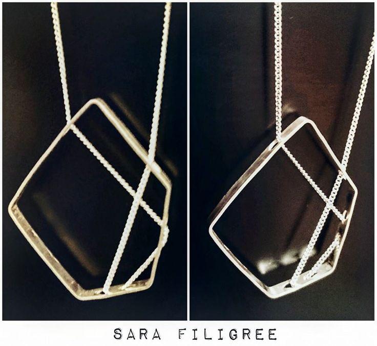 Handmade silver necklace...