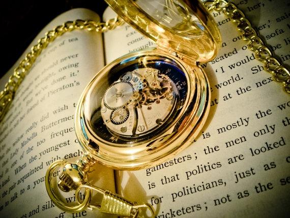 Steampunk Pocket Watch - Spring Sale. $50.00, via Etsy.
