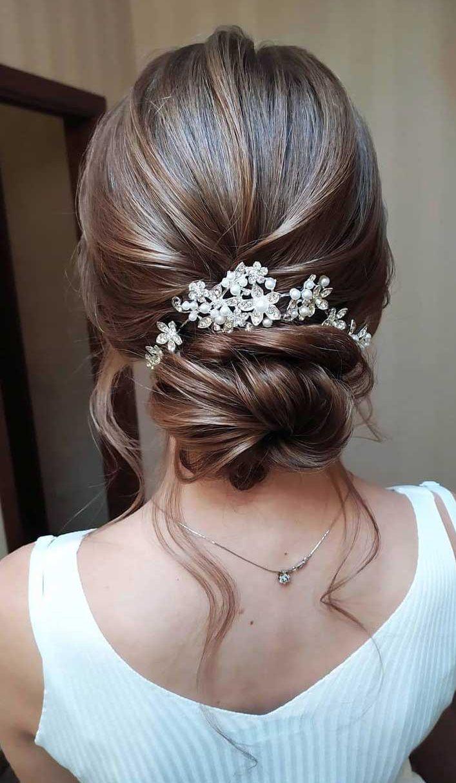 Simple Elegant Wedding Hairstyles