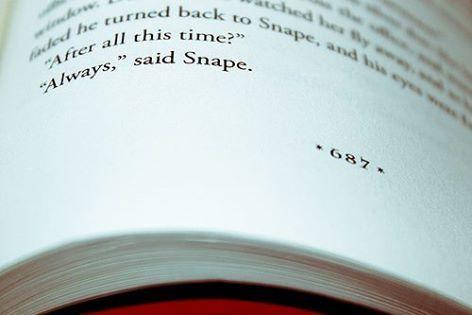 """""""After all this time?"""" """"Always..."""" said Snape.  Ini adalah salah satu quote favorit di novel Harry Potter! Quote novel favorit kamu apa, Sobat Qbaca? Share di kolom comment yuk!"""
