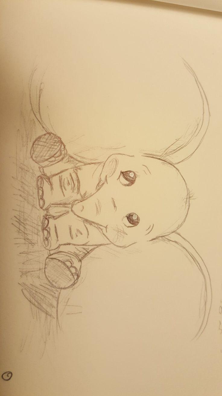 Klicke Um Das Bild Zu Sehen Dumbo Disney Drawing Disney
