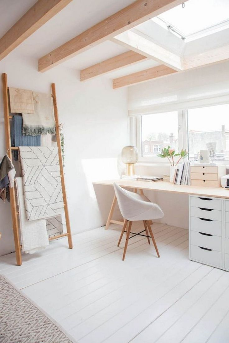 55 Awesome And Subtle Home Office Scandinavian Design Ideas Home Office Design In 2020 Minimalist Apartment Decor Scandinavian Furniture Design Home Office Design