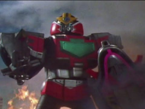Time Force Megazord First Fight (Power Rangers Time Force) - Debut