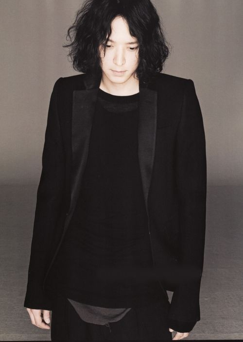 organization:    Kang Dong Won in Rick Owens for Numero