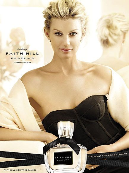 Faith Hill. A very sophisticated young woman. I admire her. You never hear one negative thing about her.