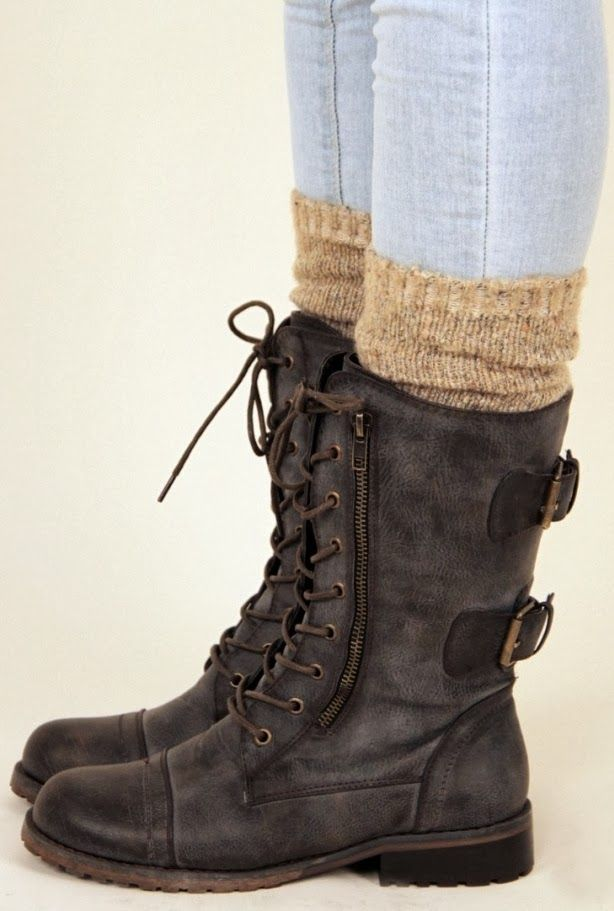 Perfect Combat Boots Fashion Style – Vialikes