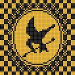 🎮 Tutorial livre para um Crochê Bairro Afegão. Jogos Vorazes -  /  🎮 Free tutorial for a District  Crochet Afghan. Hunger Games -