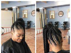 Fascinating Weaving Hairstyles For Beautiful Ladies