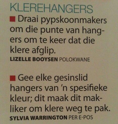 Klere hangers