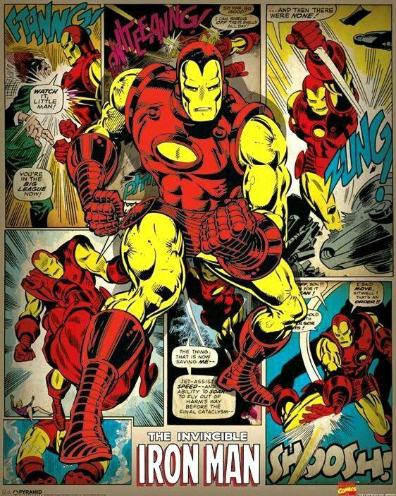 Iron Man - Marvel - Tony Stark