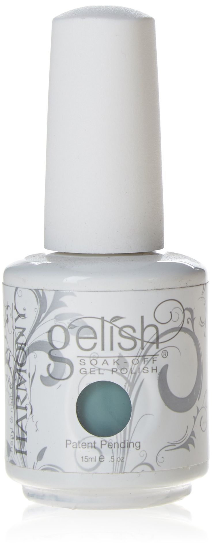 Gelish Soak Off Gel Nail Polish, Sea Foam, 0.5 Ounce. No chipping or peeling, and soaks completely off in only 10-15 minutes. Applies like polish and cures in a led lamp in 30 seconds. Gelish stays on nails for up to 3 weeks.