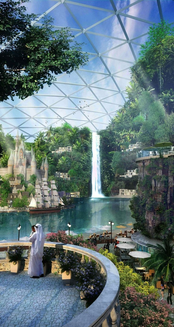"Amazing Place-To-Be (not yet built).  The Plans For Dubai's ""Biggest Mall On The Planet"" Are Absolutely Insane"