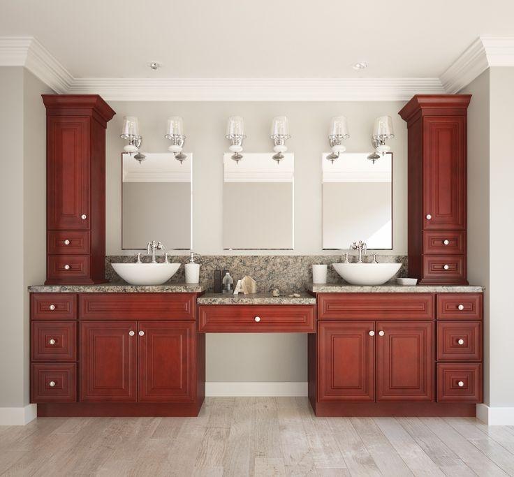 Cayenne Cognac Bathroom Vanities. 17 Best images about RTA Bathroom Vanities on Pinterest   Cherries