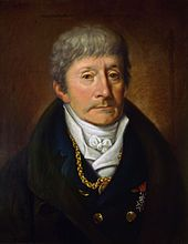 Italian composer Antonio Salieri by Joseph Willibrord Mähler. Kapelmeister at the court of Emperor Joseph II of Austria in Vienna during the last quarter of the 18th century. Wolfgang Amadeus Mozart contemporaneous and nemesis (attributed).  Neoclassical style portrait made during his last years of life,