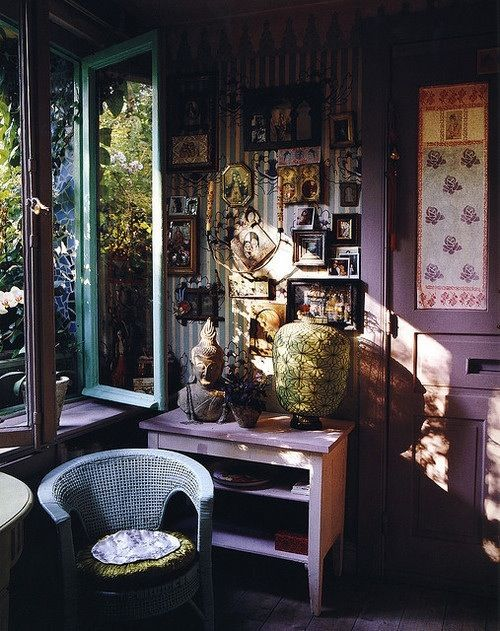 Chambre Hippie Tumblr : Bohemian Purple Room