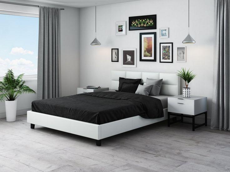 #bedroom #home #white #simple #beds #inspiration #bedroomidea #minimalism