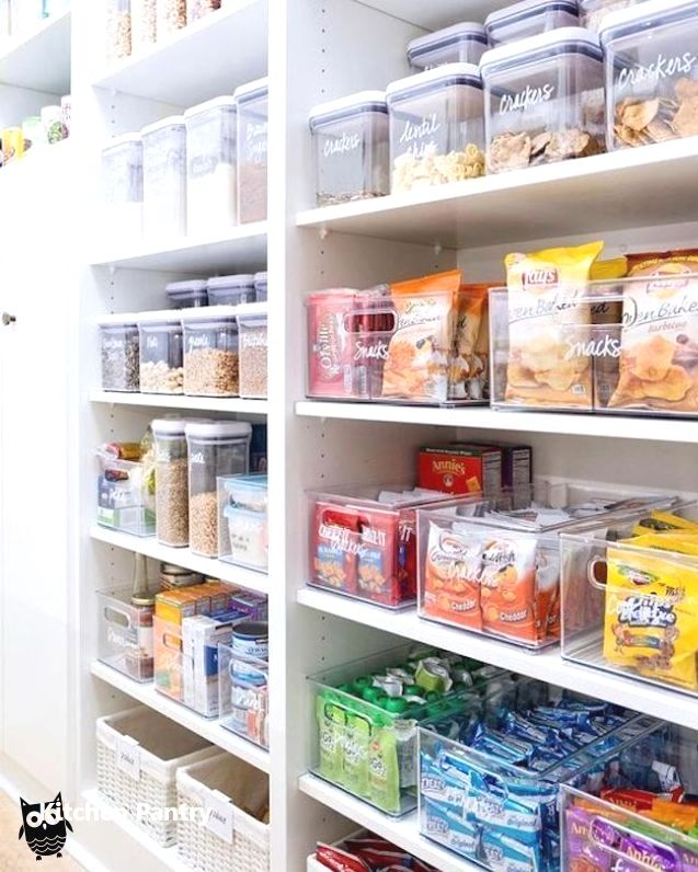 Kitchen Pantry Organization Ideas Diy Kitchen Storage Kitchen Organization Diy Kitchen Organization Pantry