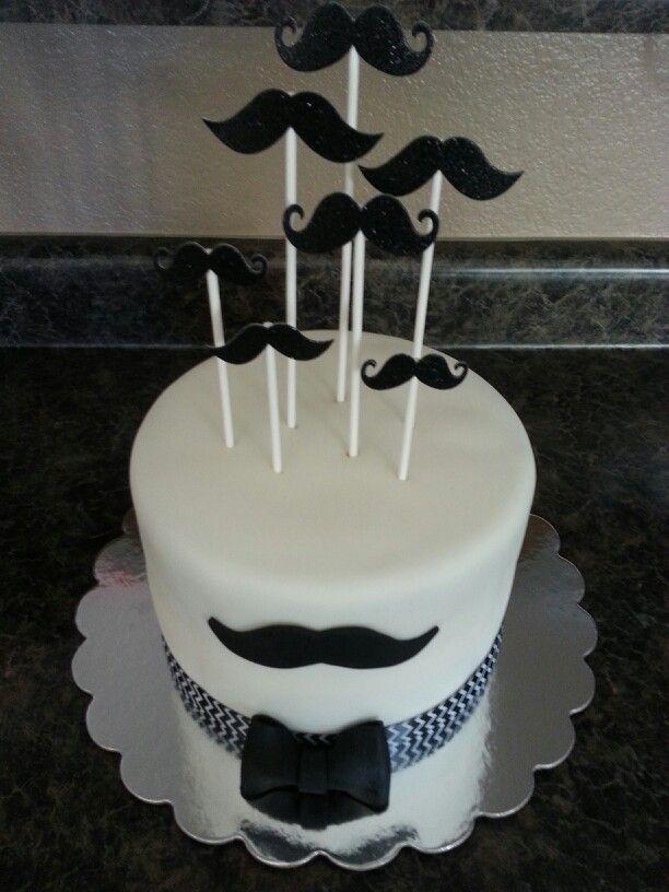 Lil Man Moustache Cake Cakes I Ve Made Pinterest