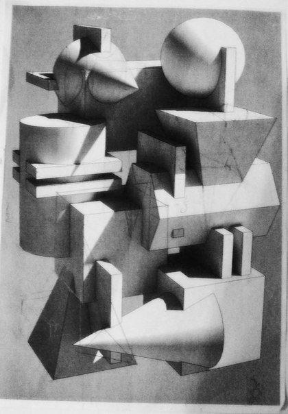 композиция из геометрических тел мархи - Поиск в Google
