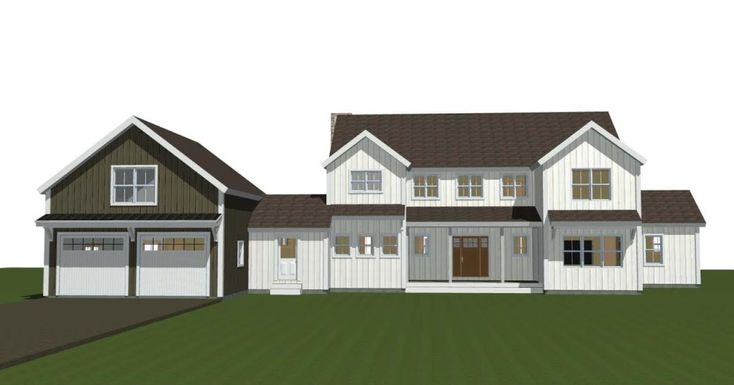 Large post and beam farmhouse barn style home 4 bed 4 for Open floor plan barn homes
