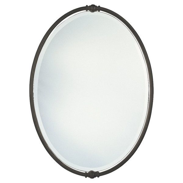 Oil Rubbed Bronze Boulevard Oval Mirror By Feiss Oval Mirror Great Deals And Shopping