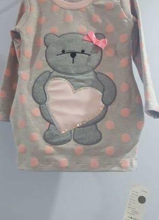 Kup mój przedmiot na #vintedpl http://www.vinted.pl/odziez-dziecieca/dziewczynki-inne/16868027-przesliczna-tunika-z-misiem-3