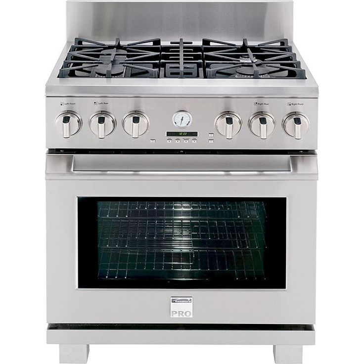"Kenmore Pro - 79523 - 30"" Dual Fuel Range 