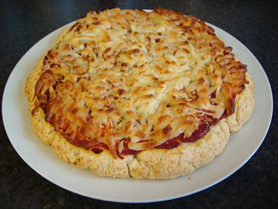 Quick and Easy Scone Base Pizza