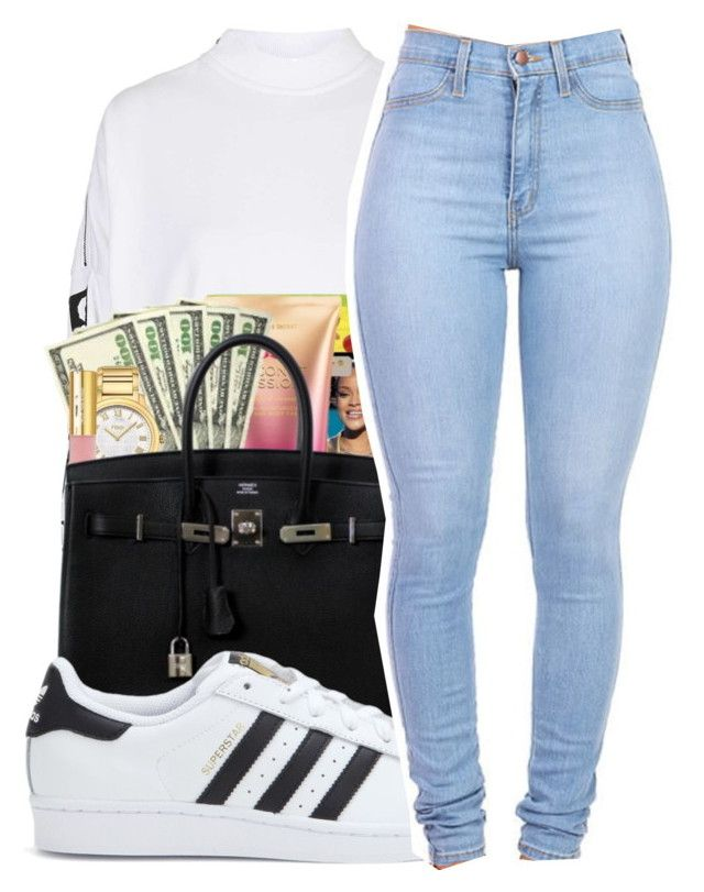 """""""Untitled #411"""" by mindset-on-mindless ❤ liked on Polyvore featuring beauty and adidas"""