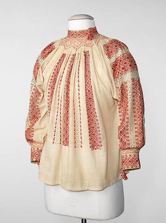 Romanian blouse