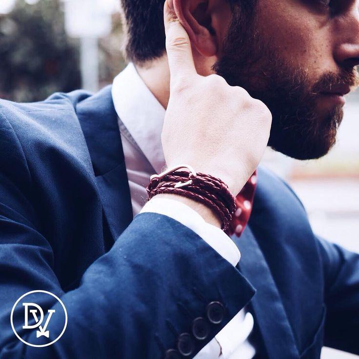 #dapper #jewelry #accessories #menswear #fashion  Find your favorite #bracelet here: http://dappervigilante.com/