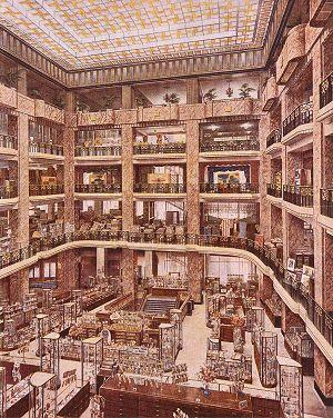 Het warenhuis Au Bon Marché te Brussel in de jaren '30 ...
