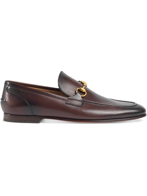 GUCCI Gucci Jordaan leather loafer.  gucci  shoes  flats  1cdee1afe
