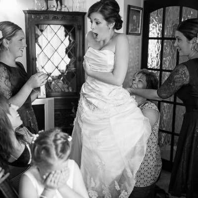 Как правильно шнуровать свадебное платье