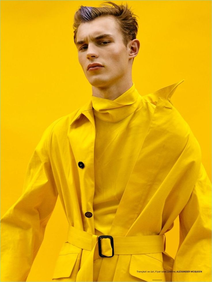Kit Butler stars in a fashion editorial for GQ Turkey.