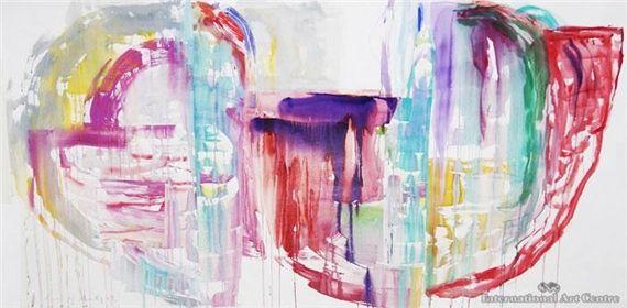 """""""Horn of Plenty"""", 1989 de Gretchen Albrecht"""