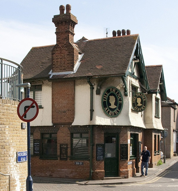 Prince Albert pub at Whitstable, Kent, England~photo by The Poss, via Flickr