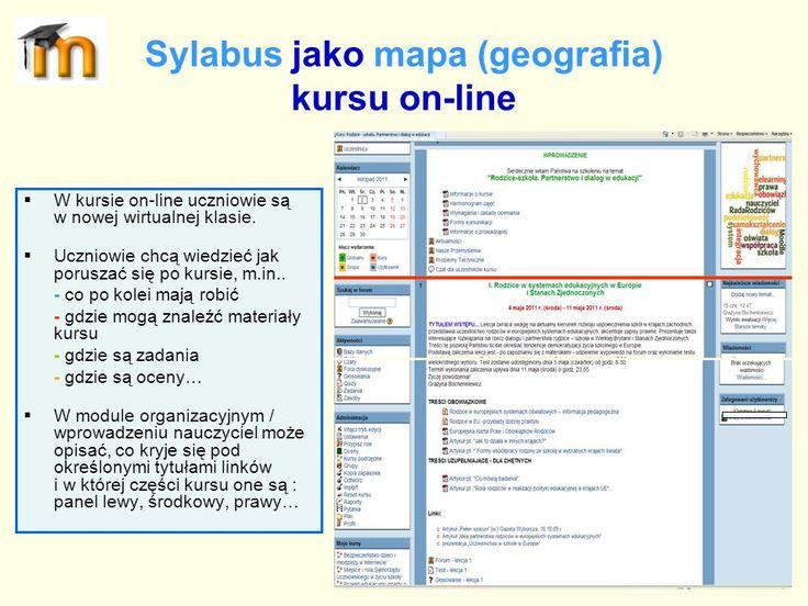 Prezentacja - Tworzenie sylabusa kursu e-learningowego