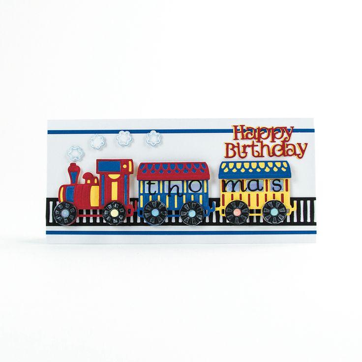 Rococo Kids Petite – Toy Train – 1466E – Tonic Studios UK
