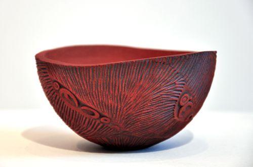 Hera Johns Kura Gallery Maori Art Design New Zealand Ceramic Bowl Uku Manaia Pinch Pot