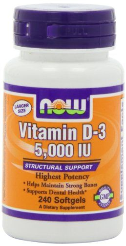 NOW Foods Vitamin D3 5000 Iu, 240 Softgels, - http://healthawarenessreview.com/health-personal-care/now-foods-vitamin-d3-5000-iu-240-softgels-com/
