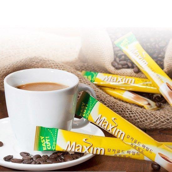 Korean Maxim Mocha Gold Mild Instant Coffee Mix(7~110 sticks) Good Taste Flavour #MaximMochaGoldMild